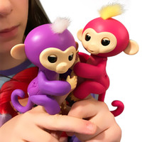 Wholesale Baby Toys Products - DHL Shipping 2017 Newest Hot Product Wowwee Fingerlings Baby Monkey Sensor Toys Sound Motion Touch Respond Fingerlings Robot Monkey Toy Gift