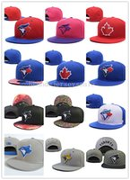Wholesale Hats Toronto - New 13 Colors Canada Toronto Gorras Men Women Blue Jays bone Adjustable Sport Snapback Baseball Caps,High Quality Fashion Baseball Hat