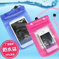 blackberry handys zum verkauf großhandel-heißer Verkauf Förderung Handy wasserdichte Hülse Handytasche Tour Schwimmen schwimmende wasserdichte Handytasche Großhandel