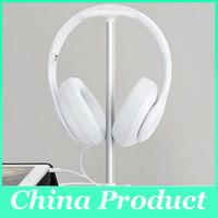 organizadores acrílicos brancos venda por atacado-Prático Acrílico Fone De Ouvido Gancho Titular Gaming Headphone Display Stand Rack Organizador Preto Branco frete grátis 010274
