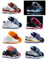 buy hot-hot - Retro 11 Basketball Shoes Mens Bred Citrus Concord Bred Georgetown GS Sneakers Designer Low Retro XI 11s For Men With Box Fast Delivery