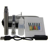 ingrosso chiusura lampo elettronica-CE4 eGo Starter Kit E-Cig Kit chiusura lampo sigaretta elettronica Kit singolo con CE4 atomizzatore e 650mah 900mah 1100mah batteria Ego T DHL