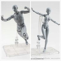 Wholesale Chinese Action Figures - She  he S.H.Figuarts (SHF) Body kun DX SET (Gray Color Ver.) Action Figure PVC 15cm new in box (Chinese Ver.)
