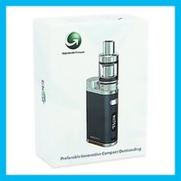 Wholesale E Cigaratte - 100% Authentic Eleaf iStick Pico Starter Kit 75W E cigaratte Kit by Single 18650 Battery with EC Coil