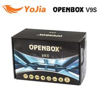 Wholesale free tv iptv for sale - Factory Original Openbox V9S HD Satellite Receiver Support WEB TV Biss Key USB Wifi G CCCAMD NEWCAMD Free IPTV