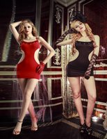 Wholesale Dance Costume Dolls - Wholesale-9963 New Fashion Sexy Bady Doll Lingerie Dance Dress Extreme Sexy Party Dress