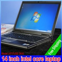Wholesale Cheap Used Windows - free shipping pc cheap used laptop from china BNR wholesale computer duo core 14inch 2G RAM 80G HDD Win7 GOOD Second-hand laptop