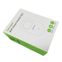 kostenloses wifi zuhause großhandel-Orvibo S20 WiFi Smart Socket Intelligente Netzstecker EU, US, UK, AU Standard Power Socket Home Automation funktioniert mit Echo DHL Free