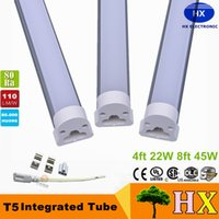 Wholesale T5 Sale Lights - Hot sale Led Tube Lights 600mm T5 9W Tubes Led 60 cm SMD 2835 Super Brightness Led Bulbs Fluorescent Tubes AC110~220V CE ROHS