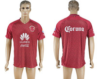 Wholesale Cheap American Sportswear - 2016 17 New Collection Club American Red Soccer Jerseys Thai Quality Men's Soccer Shirts Men Soccer Sportswear Cheap Customize Jerseys