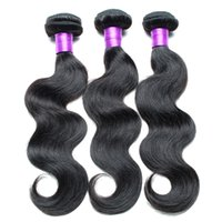 Wholesale European Hair Extentions - Mink Human Hair Extentions Brazilian Body Wave Hair Weaves 3 Bundles Unprocessed Virgin Hair Natural Color Dyeable Grade 8A No Tangle