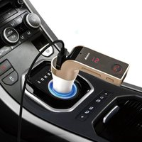 GPS G7 Auto Car Transmissor FM Bluetooth com / drives flash USB TF MP3 WMA Music Player SD e Recursos carregador USB