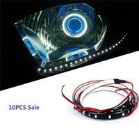 Wholesale Lights For Chassis - 30CM 1.5W Multicolor Decoration Strip Light for Cars Low Beam High Quality Automobile Chassis Lights JTCL005