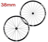 Wholesale light 38mm clincher for sale - Super Light Wheel Fit s Speed Ffwd Aluminum Wheels mm Bicycle Wheels Carbon Fiber Road Wheelset