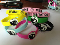 Wholesale Rubber Wristbands Bracelets Personalized - Custom Shapes Silicone Wristband 12mm Wide Personalized Images Rubber Bracelet