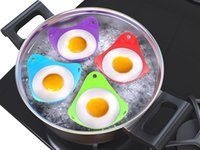 Wholesale Custom Silicone Egg Poacher Bright Colors Premium Quality Silicone Egg Boiler Cups For Perfect Poached Eggs from Kosy Kitchen