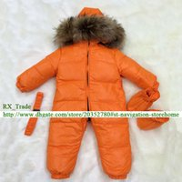 Wholesale Children Detachable Collar - MR02 Brand Style Top Quality Boys Girls Real Big Raccoon Fur Collar Hooded Waterproof Down Jacket Outer Winter Jumpsuit Children Parka
