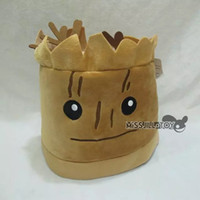 Wholesale Galaxy Costume - Wholesale-Anime Guardians of the Galaxy groot plush cap Soft plush hat cosplay Winter Warm Beanies cap high quality