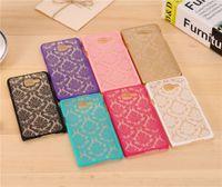 Wholesale Vintage Cases For Galaxy Grand - Colorful Elegant Vintage Damask Flower Pattern PC Case Cover For Samsung Galaxy A3 A5 A7 A8 A3 A5 A7 2016 J5 J7 Grand Prime MOQ:10pcs