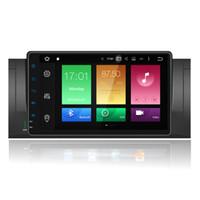 """Wholesale E39 Bluetooth - 9"""" Octa Core Android 6.0 System Car DVD Multimedia For BMW E39 M5 X5 E38 E53 Radio Receiver RDS BT WIFI 4G GPS SWC 2G RAM 32G ROM Google"""