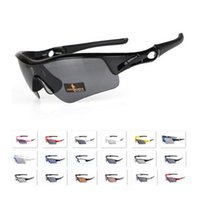 Wholesale ok brand - 2016 New Arrival Bicycle Brand Pitch Sunglasses Men Women Cycling Black Multi Frame Lens OK Sports Bike Sun Glass