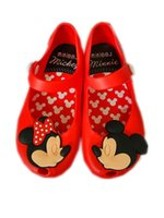 Wholesale Baby Girl Cute Polka Dotted - Minnie Mouse Shoes Sandals 3 Color Summer Baby Girls Boys Cute Cartoon Beach Shoes Infantil Sandalia 1-3Y B