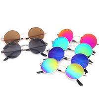Wholesale Kids Round Eyeglasses - Fashion Round Boys Kids Sunglasses Brand Children Sunglasses Baby Vintage Eyeglasses Oculos round Eyewear Sunglasses KKA3332