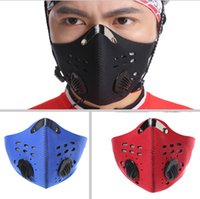 Wholesale Bicycles City - Anti-pollution City Cycling Mask riding Mouth-Muffle Dustproof Masks Bicycle Sports Protect cycling mask face cover Protection 3 colors