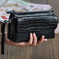 Wholesale Cheap Ladies Passport Wallet - Wholesale-New Arrival Diagonal Mini Hand Bag Genuine Leather Bag Lady Fashion Brand Cheap Handbag High Quality Hot Sale Free Shipping