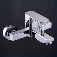 Wholesale Bath Shower Mixer Taps - High quality Quartet brass bathtub faucet bath and shower faucets,bath shower mixer taps,Free Shipping J14839