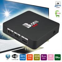 Wholesale Program Tv - BM8 Pro S912 Ott Smart TV Box Octa Core Android 6.0 2G+32G Wifi 2.4G 5G Bluetooth 1000M LAN 4K Airplay Programs Media Players