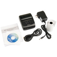 Wholesale 58mm Portable Bluetooth Wireless Receipt Thermal Printer USB Interface For Android PC Black US Plug