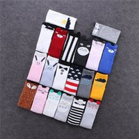 Wholesale Cheap Rubber Flooring Wholesale - Cheap mix Infants Baby socks 2016 ins antiskip rubber sole room floor socks Korea girls half knee lovely rains cats ears Sock autumn winter