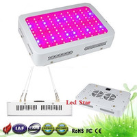 Wholesale grow light band spectrum resale online - Best X3W Hydro Grow LED Full Spectrum Top value band w Hydroponic LED Grow lights with Real nm UV IR
