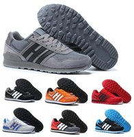 Wholesale Band Boston - Hot Men NEO Retro Casual Shoes Women 3M ZX 700 White Leisure Loafers Flat Boston Super Primeknit Zapatos Hombre Female Real Sports Shoes