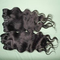 comprar 22 pulgadas de pelo brasileño al por mayor-Envío mundial venta al por mayor brasileño body wave hair más barato procesado extensiones de tejido de cabello humano 8pcs (400g) / lot muchos muchos compran 12
