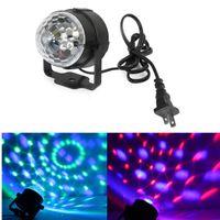 Wholesale Auto Acoustics - acoustic control LED Stage Light AC100-240V music light DJ Disco Club Party PUB KTV sing laser