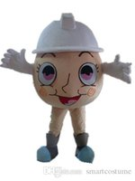 Wholesale Egg Costume Adult - SX0720 100% positive feedback an egg mascot costume with a white hat for adult to wear for sale