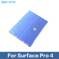 Wholesale Tablet Cover Stickers - Wholesale-SIKAI Screen Protector Tablet Decal Back Cover Film For Surface Pro 4 Wrap Protect Skin Sticker For Microsoft Surface Pro 4