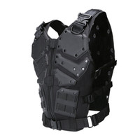 Wholesale Tactical Neck Armor - Outdoor Sports Outdoor Camouflage Body Armor Combat Assault Waistcoat Tactical Molle Children Vest Plate Carrier Vest NO06-023