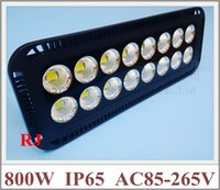 Wholesale 800W super power and bright with cup reflector LED flood light floodlight waterproof W W AC85 V lm IP65 CE