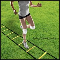 speed and agility training - Top design and High quality Soccer Training Agility Speed Ladder Soccer Training Quick Flat Rung Speed Ladder DHL Free