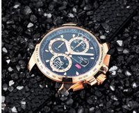 Wholesale luxury watches miglia for sale - New style luxury watches men quartz chronograph watch miglia sport rubber band wristwatch
