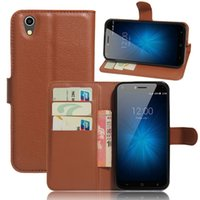 Wholesale London Cases - For umi London Fashion Litchi Pattern PU Leather Wallet Stand Case Cover with Card Slot