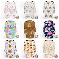 Wholesale baby pram bags - Baby Stroller Cover Car Seat Canopy Shopping Cart Cover Sleep Pushchair Case Pram Travel Bag By Cover Breastfeed Nursing Covers OOA2519