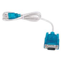последовательный кабель usb db9 оптовых-HL-340 CH340 USB к RS232 COM порт последовательный PDA 9 Pin DB9 кабель-адаптер поддержка Windows 7 10 Оптовая