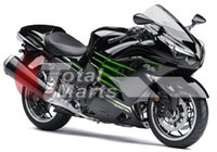 Wholesale zx14 fairings - Fairing For Ninja ZX14R ZX14 ZX1400 ZZR1400 2012 2013 12 13 Injection ABS Black F1315C
