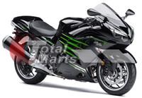 Wholesale Kawasaki 12 - Fairing For Ninja ZX14R ZX14 ZX1400 ZZR1400 2012 2013 12 13 Injection ABS Black F1315C