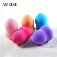 Wholesale Sponges For Facials - Wholesale- AMEIZII 1 Pcs Foundation Sponge Facial Makeup Sponge Cosmetic Puff Flawless Beauty Powder Puff Makeup Tools for face