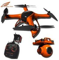Wholesale Rc Shoot - Rc Drone Wingsland Minivet 5.8G FPV Camera HD 1080P RC Quadcopter Auto Retrun Home Surround Shooting Heading Lock aircraft Free